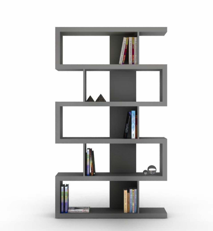 Muebles especiales bibliotecas dismagar acabados for Muebles para libros modernos