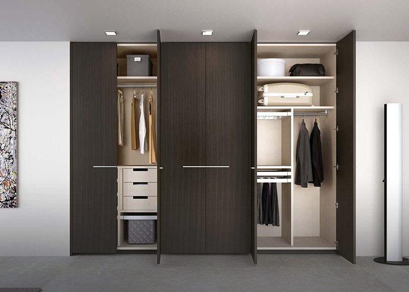 Diseno closets puertas en madera dismagar acabados for Disenos de espejos para habitacion