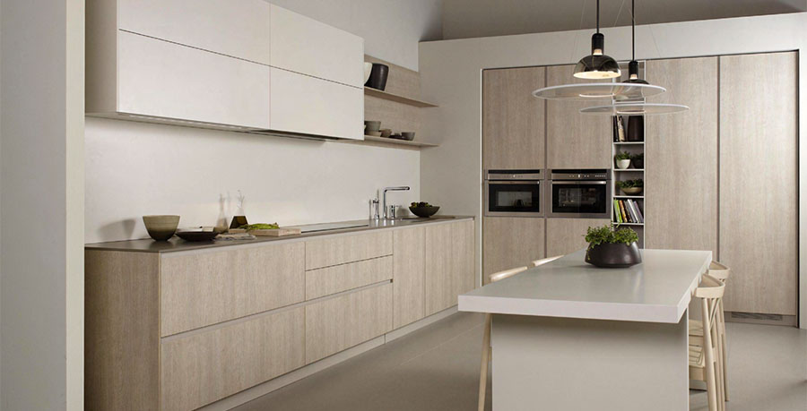 Puertas De Cocinas Modernas Stunning Este Dise Es En Forma De L