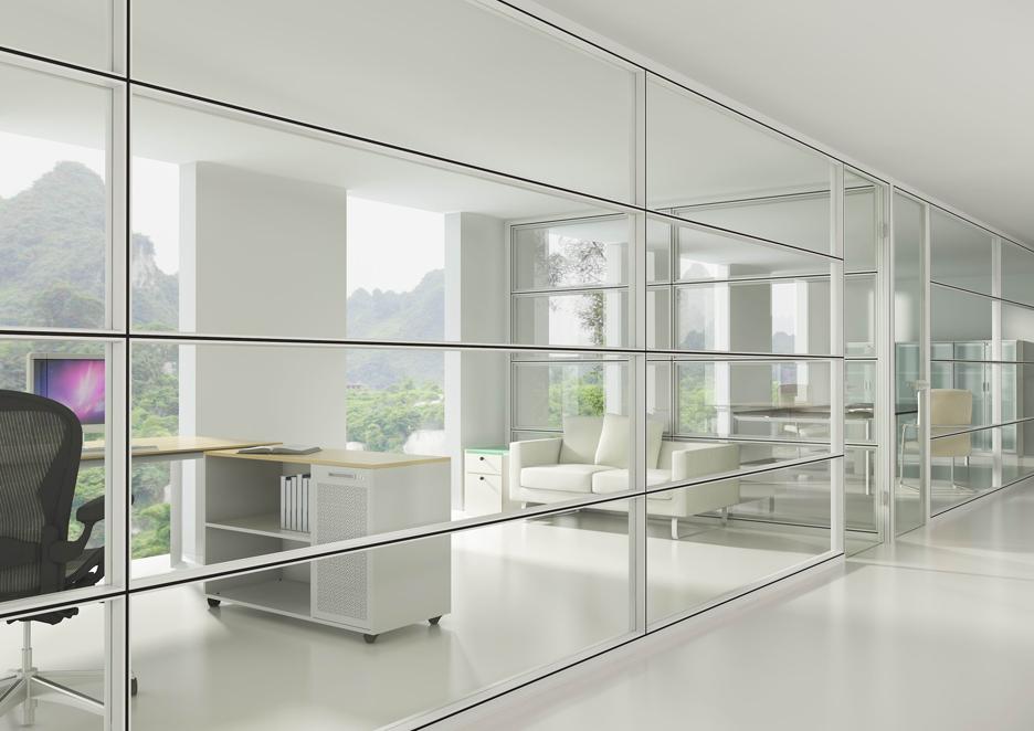 Divisi n proyectante acabados arquitect nicos dismagar wp for Mobiliario de oficina moderno