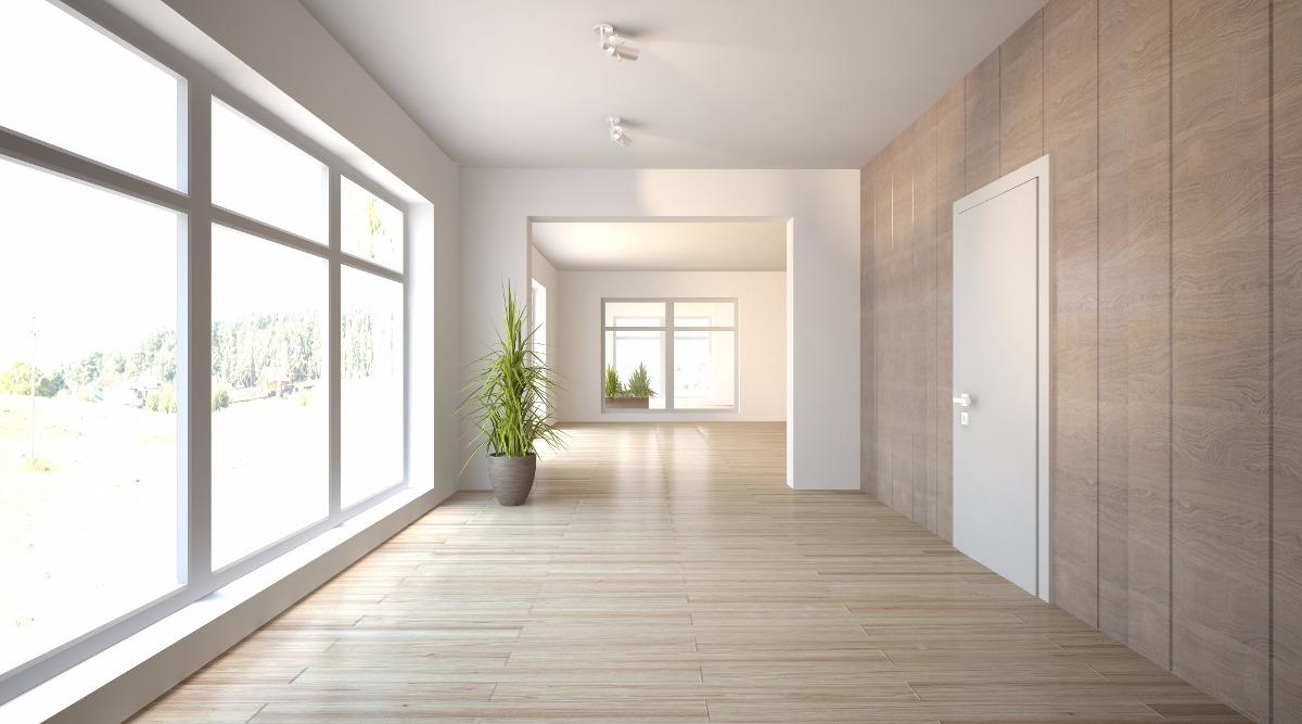 Pisos laminados y pisos pvc acabados arquitect nicos for Fotos de salones de pisos