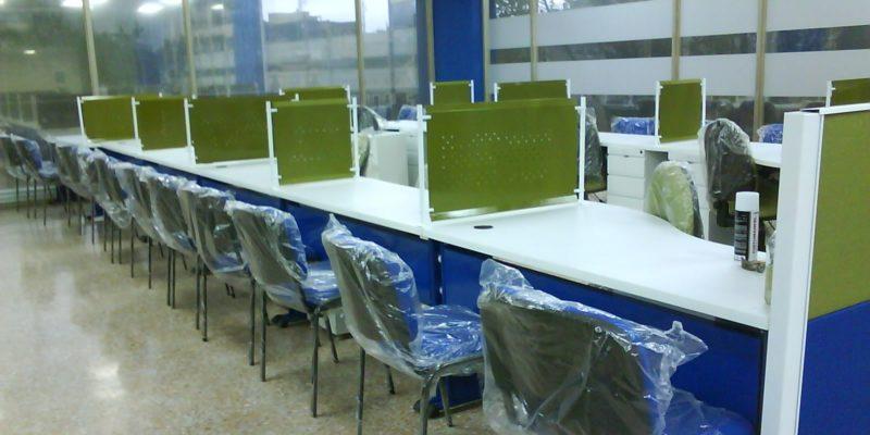 estaciones modulares oficinas